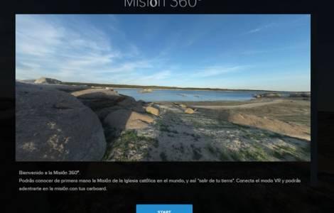 La Missione a 360°, itinerario virtuale
