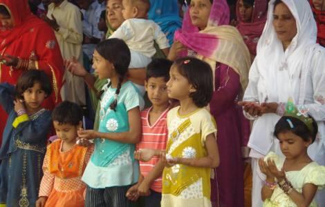 Mulheres cristãs no Paquistão