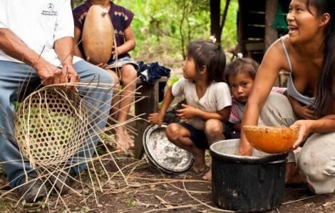 popolazione Shuar dell'Ecuador