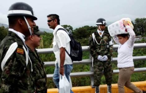 L'aiuto della Chiesa cattolica a quanti fuggono dal Venezuela