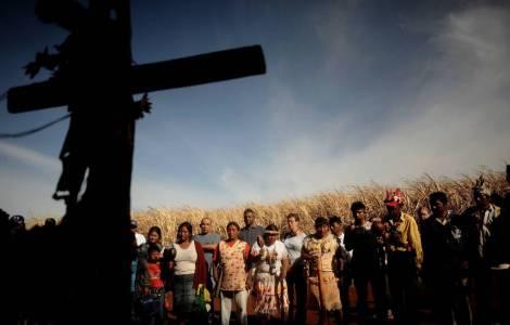 Comunità indigena in Brasile