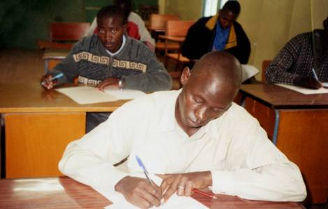 Seminarista del Kenya