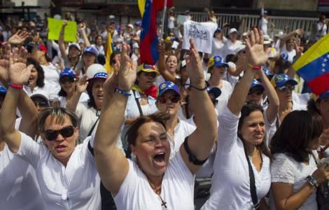 Proteste a Caracas
