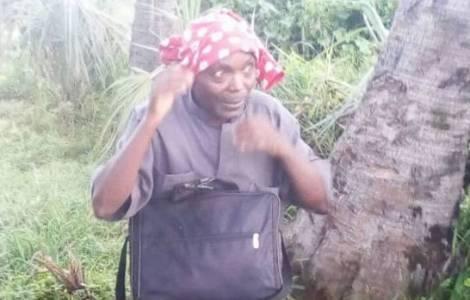 Don Adolphe Ntahondereye provato subito dopo la sua liberazione