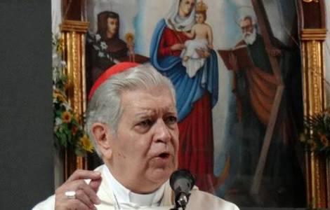 """Cardeal Urosa recorda o apelo do beato Romero: """"Lh"""