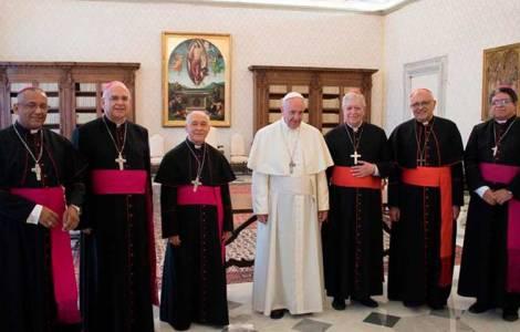 """Papa Francesco: """"Nella voce dei Vescovi venezuelani risuona anche la mia"""""""