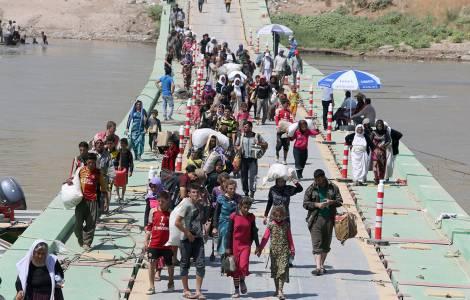 Iraq, scontri a sud di Kirkuk tra forze irachene e peshmerga curdi