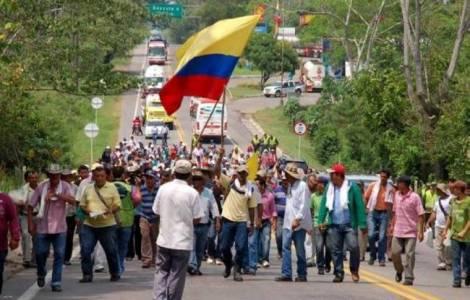 Paysans colombiens