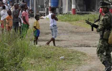 """La """"notte orribile"""" di Tumaco: abbandono, violenza e morte, frontiere invisibili, narcotraffico"""
