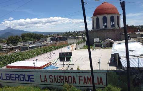 """centro d'accoglienza """"La Sagrada Familia"""", ad Apizaco."""