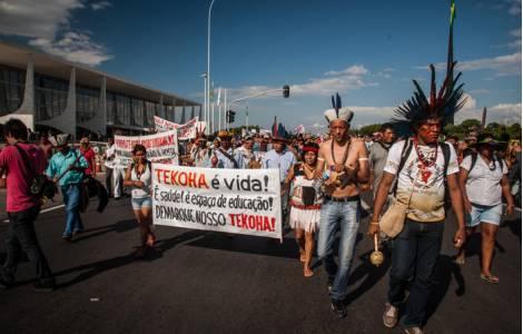 """Il 2017 """"Annus horribilis"""" per l'Amazzonia. La denuncia del cardinale Hummes e del Vescovo Kräuter"""
