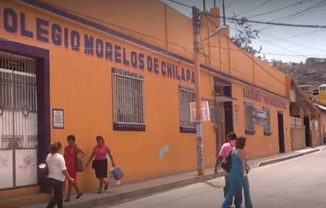 scuola chiusa a causa della violenza