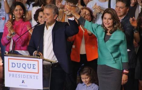 Eletto Ivan Duque, il più giovane presidente colombiano