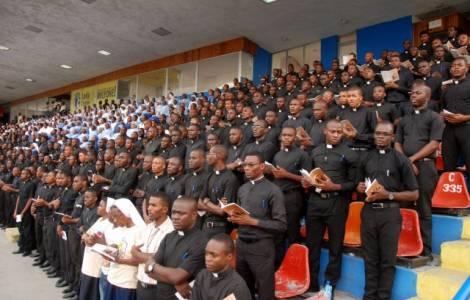 la festa della Madonna del Perpetuo Soccorso, patrona di Haiti,
