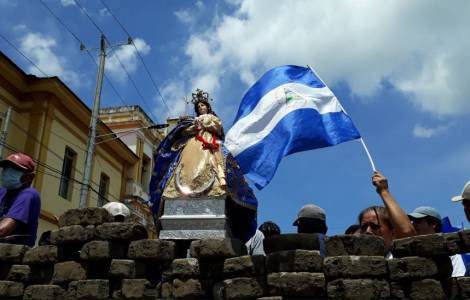 """""""Il governo del Nicaragua supera il limite dell'inumano e dell'immoralità. La repressione criminale contro i civili, in maggioranza giovani studenti,"""