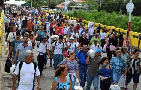 Le forze armate nello stato dove continuano ad arrivare i profughi venezuelani