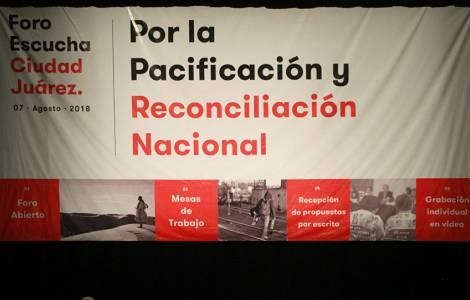 La Chiesa contribuisce ai Forum di pacificazione e riconciliazione